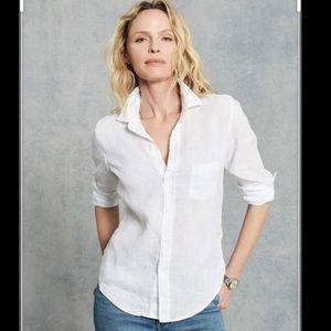 Frank & Eileen NWOT White Linen Shirt